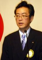 新入会員挨拶 野上  武氏((株)菊陽自動車学校 代表取締役)P1010677.jpg